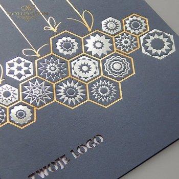 Рождественская и Новогодняя открытка K629