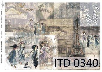 бумага для декупажа классическая D0340