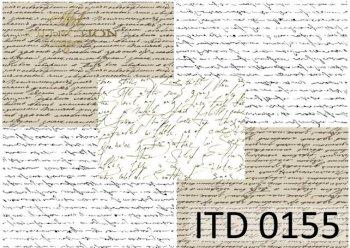 Papier decoupage ITD D0155M
