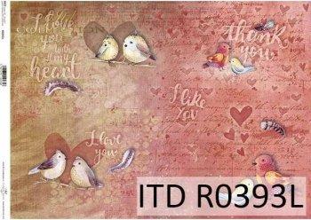 рисовая бумага для декупажа R0393L