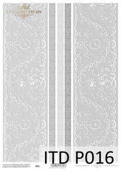 Прозрачная бумага для скрапбукинга P0016