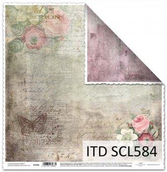 Бумага для скрапбукинга SCL584