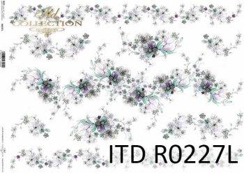 рисовая бумага для декупажа R0227L