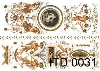 бумага для декупажа классическая D0031
