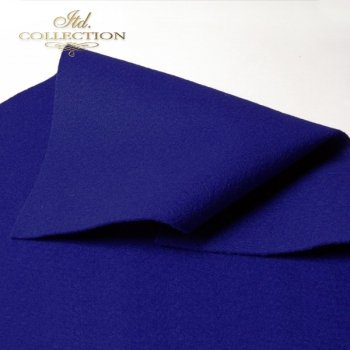 декоративный войлок синий F001
