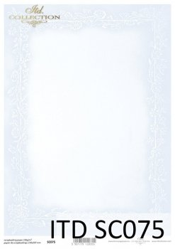 бумага для скрапбукинга SC0075