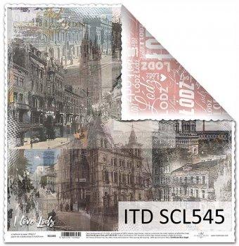Бумага для скрапбукинга SCL545