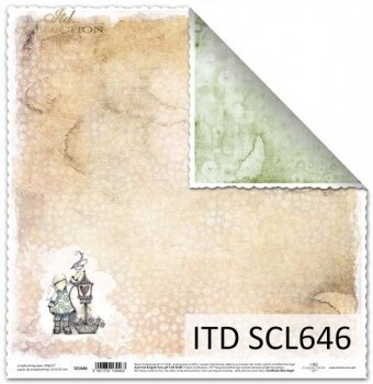 Бумага для скрапбукинга SCL646
