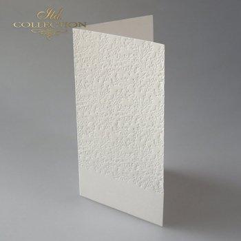 Заготовки для открыток BDK-025 кремовый цвет, ветки