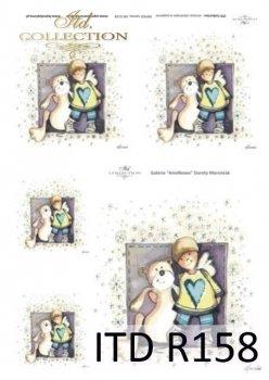 рисовая бумага для декупажа R0158