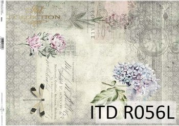 рисовая бумага для декупажа R0056L
