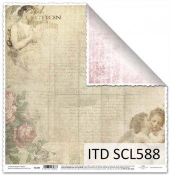 Бумага для скрапбукинга SCL588