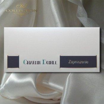 Zaproszenie biznesowe ZB1013 z kopertą