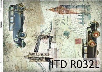 рисовая бумага для декупажа R0032L