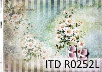 рисовая бумага для декупажа R0252L