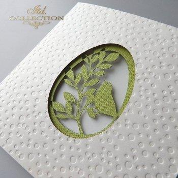 Пасхальная открытка с конвертом KW242
