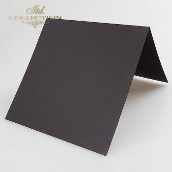 Заготовки для открыток BDK-009 черный цвет