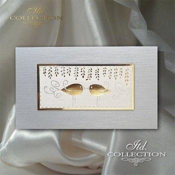 Пасхальная открытка с конвертом KW273
