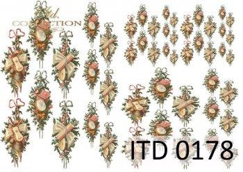 бумага для декупажа классическая D0178