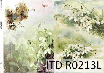 рисовая бумага для декупажа R0213L