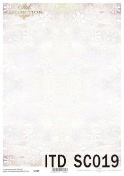 бумага для скрапбукинга SC0019