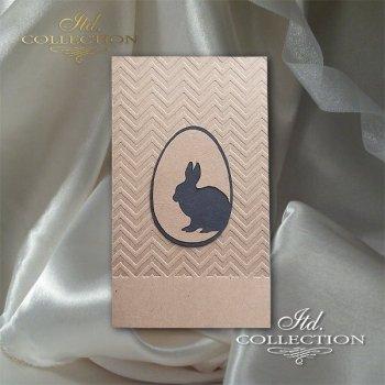 Пасхальная открытка с конвертом KW241