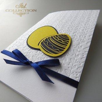 Пасхальная открытка с конвертом KW244