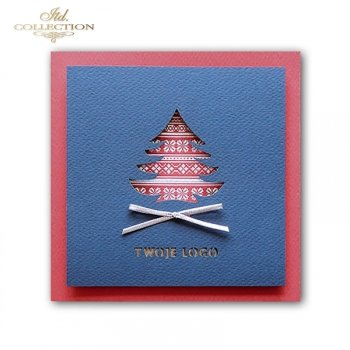 Vánoční karty / karta K576
