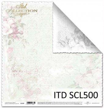 Бумага для скрапбукинга SCL500