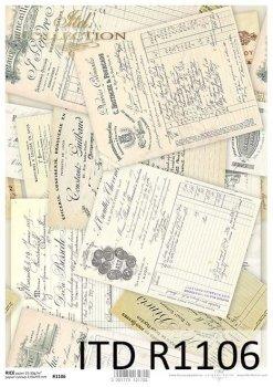 рисовая бумага для декупажа R1106
