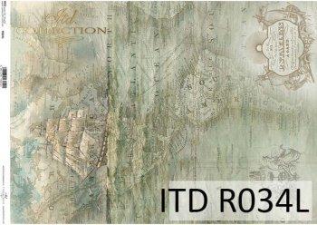 рисовая бумага для декупажа R0034L