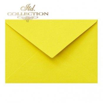 Конверт KP04.15 114x162 желтый