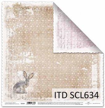 Бумага для скрапбукинга SCL634