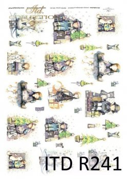 Reispapier für Serviettentechnik und Decoupage R0241