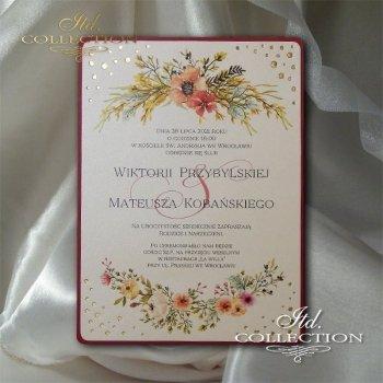Einladungskarten / Hochzeitskarte 2072