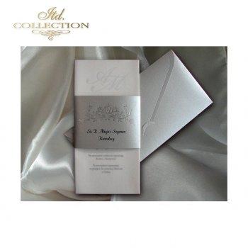 Einladungskarten / Hochzeitskarte 1499