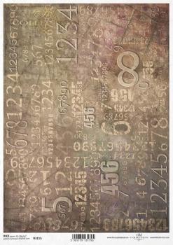 Reispapier für Serviettentechnik und Decoupage R1115