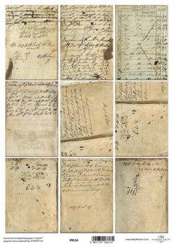 Transparentpapier für Scrapbooking P0114
