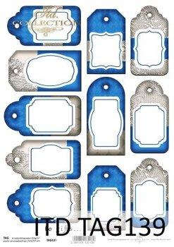 Frames für Scrapbooking TAG0139