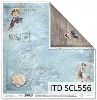 Papier für Scrapbooking SCL556