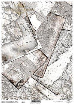 Transparentpapier für Scrapbooking P0057