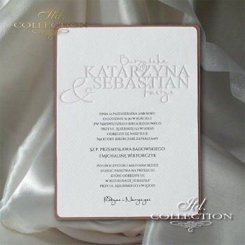 Einladungskarten / Hochzeitskarte 2015