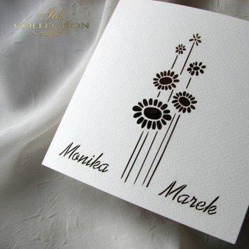 Einladungskarten / Hochzeitskarte 1731_61_Pfingstrose