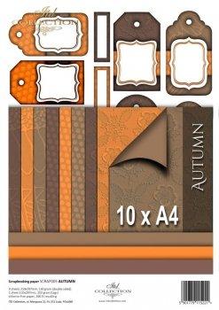 Set von Papieren für Scrapbooking SCRAP-005 ''Autumn''