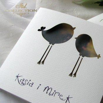 Einladungskarten / Hochzeitskarte 1731_48_Lavendelblüten