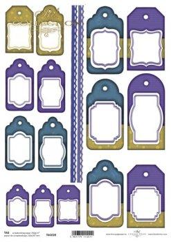 Frames für Scrapbooking TAG0028