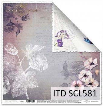 Papier für Scrapbooking SCL581