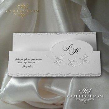 Einladungskarten / Hochzeitskarte 2035