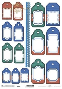 Frames für Scrapbooking TAG0030