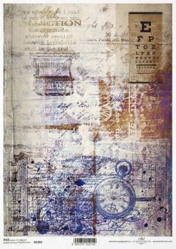 Reispapier für Serviettentechnik und Decoupage R1691